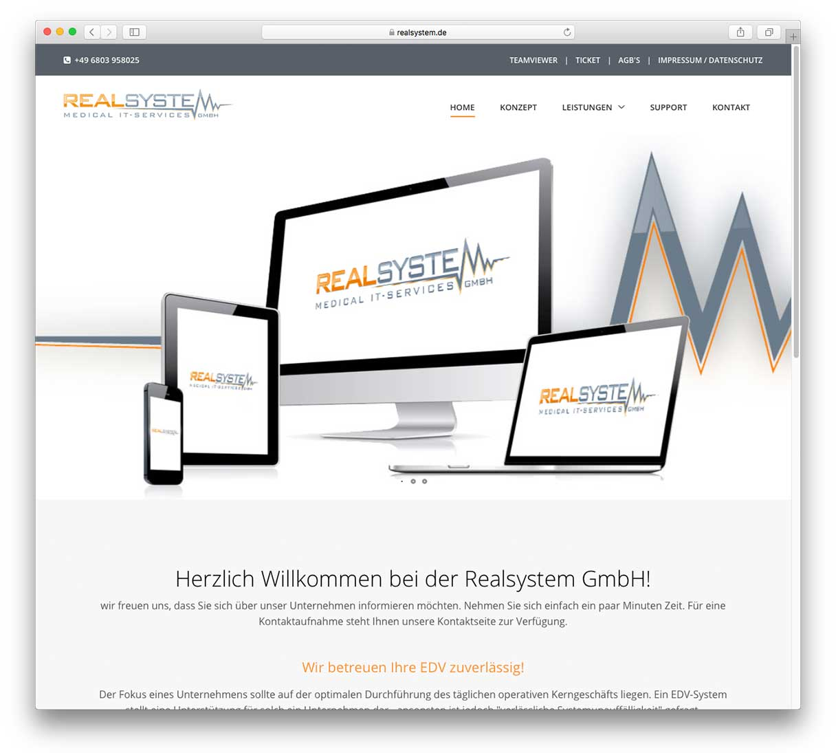 RealSystem GmbH - Medical IT-Services